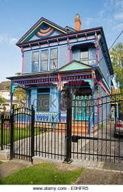Check out the colourful character houses in James Bay!