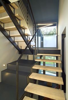 Arlington Residence - contemporary - staircase - dc metro - KUBE architecture
