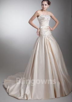 Sweep White Sweetheart Appliques A-line Lace Up Taffeta Sleeveless Wedding Dresses