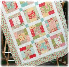 Cute Baby Quilt Patterns | Quilting Ideas | Project on Craftsy: Baby Paige Quilt