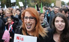 In Poland, badass women and men have, and will continue to dress like goths and take to the streets to protest a new law being advanced by Poland's ruling party, the right-wing PiS (Law and Justice), that would ban all abortions and threaten jail time for women who do not comply. The ban is supported by Prime Minister Beata Szydlo, Deputy Justice Minister Patryk Jaki, and the Catholic Church, among others, according to the Independent.