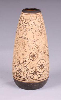 weller burntwood vases - Cerca con Google