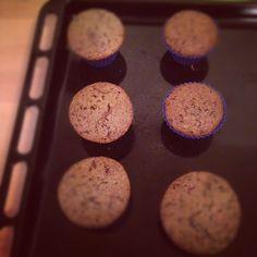 orange & chocolate flavoured yummy muffin