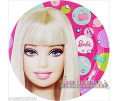 Barbie 'All Doll'd Up' Large Paper Plates (8ct)