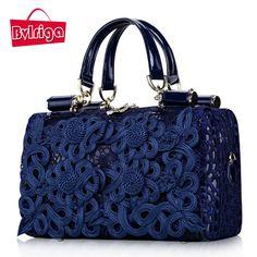 Lace Leather Bag Handbags Women Famous Brands Women Messenger Bags Shoulder Bag Vintage Bolsos High Quality Bolsos New //Price: $88.50 & FREE Shipping //     #womenfashion