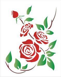 20×25 – Simples | OPA – Criando Arte Stencil Patterns, Stencil Painting, Stencil Designs, Paint Designs, Applique Designs, Fabric Painting, Mehndi Art Designs, Flower Tattoo Designs, Diy Wall Art