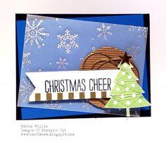 Cardbomb: WWYS #31: Cheer All Year and CYCI#88 #WWYS31 Maria Willis www.cardbomb.blogspot.com Stampin' Up!