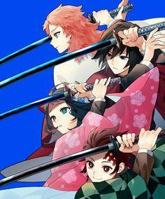 Kimetsu no Yaiba (Demon Slayer) Image - Zerochan Anime Image Board Manga Anime, Otaku Anime, Anime Art, Manga Art, Anime Angel, Anime Demon, Chihiro Cosplay, Cosplay Anime, Demon Slayer