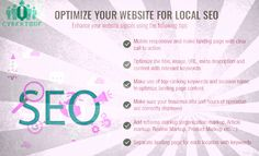#SEO #Services - Useful tips to optimize your website for local SEO. See more .. http://www.cyberique.com/seo-service.php