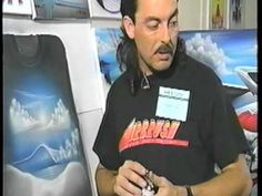 Airbrush on Black T-Shirts with Terry Hill