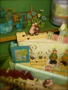 I love Nana, Nona, Mom, Aunt, Friends    Available at Heidi's Cottage Country Home Decor and Gift Store, Dunellen, NJ.  www.heidiscottage.com
