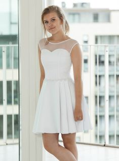 New Outfits, Cute Outfits, Confirmation Dresses, Model Poses Photography, Summer Girls, Formal Dresses, Wedding Dresses, Marie, White Dress