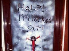 Awesome elf on the shelf idea!