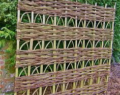 WILLOW TRELLIS PANELS Handmade by local weavers to orde | eBay