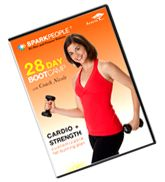 Get a $3 OFF coupon to buy the 28 Day Bootcamp DVD at Target - good workout!
