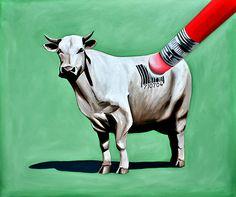 """HUMAN EVOLUTION"" oil on canvas, 60"" x 72"" by Al Jackson"