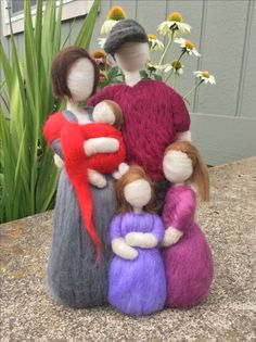 Needle felt family