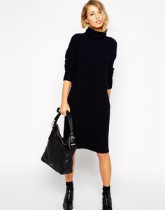 Whistles | Whistles Slouchy Knit Dress at ASOS