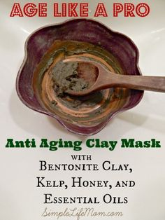 Age Like A Pro - Anti Aging Clay Mask (scheduled via http://www.tailwindapp.com?utm_source=pinterest&utm_medium=twpin&utm_content=post439873&utm_campaign=scheduler_attribution)