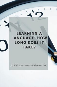 Learning a new language? Do you wonder how long it takes? Check out the video below. Prefer to read about how long learning a language takes?