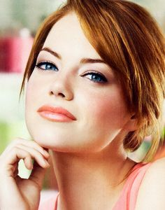 Gorgeous wedding make-up for red head beauties... warm, peachy romantic hues
