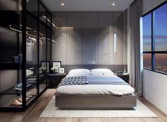 Thiết kế phòng ngủ nhà phố thoải mái