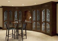Elegant Wine Room