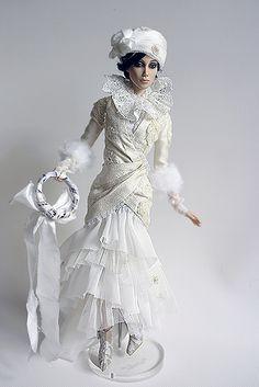 Elegant, fashionable and charming doll .. Syba by liliamigita, via Flickr