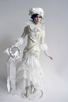 Elegant, fashionable and charming doll .. Syba by liliamigita, via Flickr
