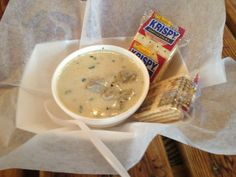 Lawrence S Oyster Stew At Rhinehart Bar A Great Place To Eat During Masters In Augusta Georgia Www Beyondcasual