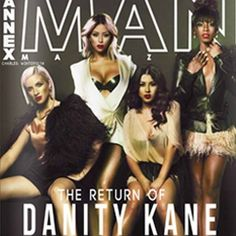 Danity Kane on their latest magazine cover wearing Velour Lashes