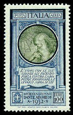 1932 c34 Leonardo da Vinci beautiful stamp
