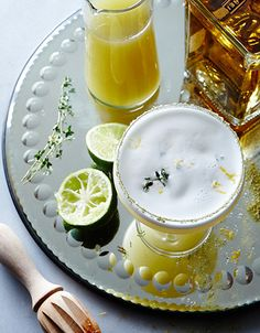 A Southern twist on the classic Margarita. Meet the Marguerite—the longleaf pine margarita. #cocktails #happyhour