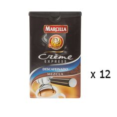 Café Crème Expresso décaféiné mélange 250 Grs - Marcilla - Lot 12