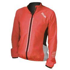 SILVA - Perform visibility running jacket women's orange