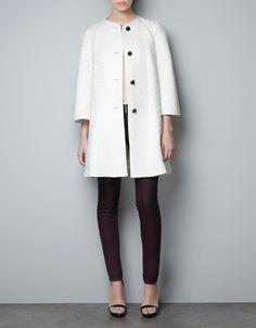 TWEED COAT - Coats - Woman - ZARA United States