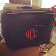 This Vols fan knows how to show his team spirit every day with the Graphite Lunchbox!     Show us your Initials, Inc. fall style for next week's Instagram Photo of the Week!