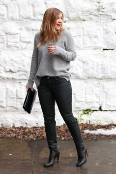winter date night outfit inspo