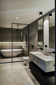Surpirising Apartment Bathroom Renovation Design Ideas To Try Asap 16 Bathroom Layout, Bathroom Ideas, Bathroom Organization, Bathroom Mirrors, Bathroom Cabinets, Bathroom Storage, Master Bathrooms, Farmhouse Bathrooms, Tile Layout