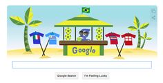 June 24th 2014 - Google Doodle World Cup
