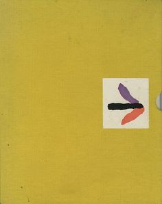"""Slipcase for """"Alternative Theory of Advertising Design"""" (late 1950s) designed for """"Fortune"""" magazine by its art director (as well as famed author illustrator) Leo Lionni (1910-1999)"""