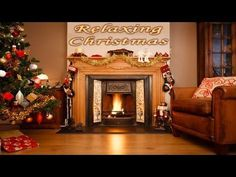 Relaxing Christmas Songs for working, studying, sleeping, focus concentr...