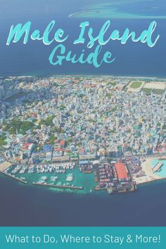 Male City is usually the first stop for travelers visiting the Make it a fun trip by extending your layover and exploring - here's how! My Male Island travel guide will show you where to stay, what to do, where to eat, and more! Male Maldives, Maldives Beach, Visit Maldives, Maldives Travel, Bucket List Destinations, Travel Destinations, Holiday Destinations, Travel Advice, Travel Guides