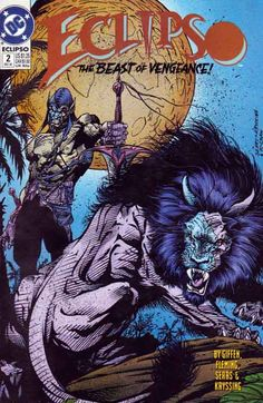 Eclipso #2 Parador Pt.2 Keith Giffen Story Bart Sears Cover Art and Pencils Rare Comic Books, Comic Books For Sale, Comic Book Covers, Angel Of Vengeance, Dr Fate, Comics Universe, American Comics, Vintage Comics, Cover Art