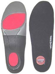 Men's Shock Doctor Insoles by Other. $8.99. Combines state-of-the-art shock absorbing and bio-mechanical design features which stabilize and support the foot in a natural position. This unique design reduces foot, leg and lower back pain, lessening stress on your whole body. Direct Power Contour with advanced cushioning and support enhances the natural protective power of your feet, reducing foot and lower body fatigue.