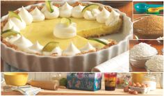 Anna Olson's Key Lime Pie Anna Olson, Cookie Desserts, Cookie Recipes, Puff And Pie, Cheesecake, Muffin, Key Lime Pie, Pastry Cake, Fritters