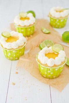 Key Lime Pie Cupcakes | Annies-Eats