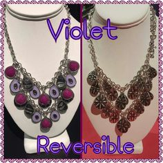 Violet by Premier Designs Jewelry,  reversible
