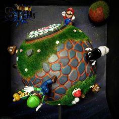 Interesting one by kroostycrew #nes #microhobbit (o) http://ift.tt/2n7fzXj Stefan Galaxy by @stefandimorama  #mario #nintendo #n64 #snes  #wii #gamecube #luigi #mariobros #supermario #mariogalaxy