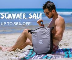 Our big Summer sale ends this Sunday night at midnight (July 31st)! We've got some amazing deals on our backpacks dry bags tarps tents travel accessories and tech protection. Save up to 55% until Sunday July 31st at midnight! Link in bio or visit http://ift.tt/28QpRIM  Bag: Cool Cat insulated cooler bag  #liveyourquest #aqwaterproof #aqambassador #beachlife #summer #summerfun #coolerbag